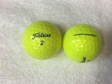 24 Titleist  NXT TourS Yellow 5A(AAAAA)Golf Balls Freeshippingto US address