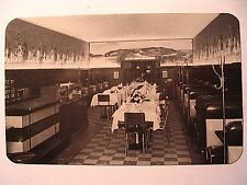 The Blue and White Restaurant Interior in Warren PA OLD