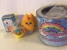 Meowgical Collectable Cat Mini Figure- Pumpkin- Cat Collectable -3 Inches