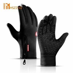 Touchscreen Cycling Winter Gloves Thermal Warm Bicycle Bike Ski Outdoor Camping