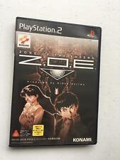 Zone of the Enders Z. O. E.1 Konami, Playstation 2 Ps2 Pstwo , Ntsc-J Japan