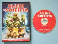 DVD Film Ita Commedia ALIENI IN SOFFITTA kevin nealon ex nolo no vhs cd lp (T3)