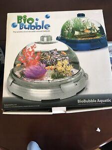 BioBubble Pets Aquatic Kit, Bio Bubble Fish Tank filter & LED Light 3 Gallons