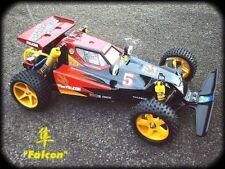 Kamtec tamiya falcon 1:10 rc replica carrosserie et aile