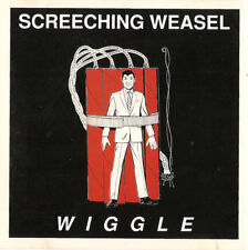 Wiggle by Screeching Weasel (Original Cd, 1992, Lookout Records)