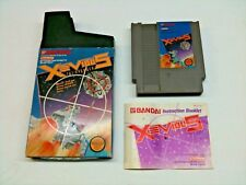 Xevious The Avenger NES Nintendo Complete CIB Cleaned & Tested T44