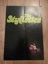 THE STYLISTICS WITH JIMMY JAMES & THE VAGABONDS ~ 1973 TOUR PROGRAMME