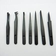 Plastic Precise Tweezers Anti-Static Maintenance Tools