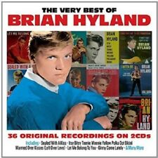 Btyan Hyland Very Best Of 2-CD NEW SEALED Sealed With A Kiss/Itsy Bitsy Teenie..
