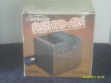 Sunbeam Fresh'Nd-Aire Model 57-25 Air Cleaner 3 Speed/2 Fans w/Extra Filter-New