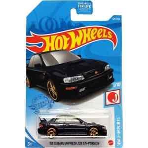 #124 98 Subaru Impreza (Dark Blue) - 2021 Hot Wheels J-Imports