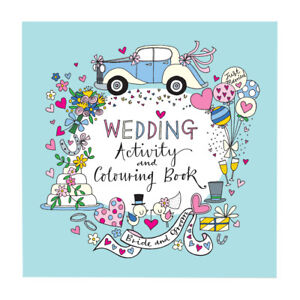 Wedding Childrens Flower Girl Page Boy Activity Colouring Book Gift Present
