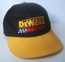 DeWalt Racing Hermie Sadler #1 Nascar Hat Vintage Snapback Baseball Cap Made USA
