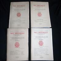Nice Historique 4 revues Année 1979