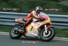 BARRY SHEENE SUZUKI RG500 World Champion 1976 & 1977 PHOTOGRAPHIE 7