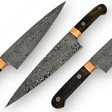 Handcrafted Wazirabad Damascus Full Tang Mighty Chef Kitchen Knife