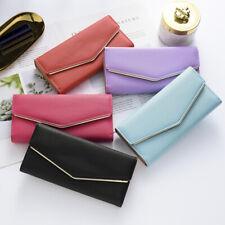 Women Leather Clutch Wallet Long Envelope Card Holder Phone Purse Bag Handbag US