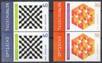 3496 3497 postfrisch Paar senkrecht mit Rand links BRD Bund Deutschland 2019