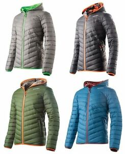 ACERBIS YVES QUILTED CASUAL JACKET MENS ADULT CHEAP HOODED MOTOCROSS MX WINTER