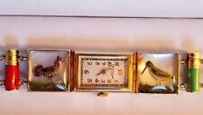 Rare Abercrombie & Fitch, Lady's 14k Gold Huntress Essex Crystal Watch Ca.1930s