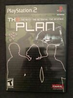 THE PLAN - PS2 - COMPLETE WITH MANUAL - FREE S/H - (C5)