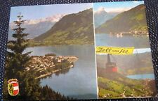 Austria Zell-am-see multi-view - posted 1985.