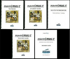 Wildridge Education MATH & MUSIC, Text, Workbook, Student Guide, Teacher, Bangs