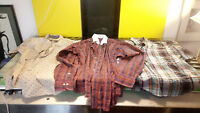 Men's Wardrobe 9 PCS Puma Polo Nautica Guardian Angel Bob Marley Men XL Shirts