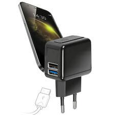 Caricabatteria Da Viaggio Per Smartphone Con Doppia Porta USB 2.100 mAh SBS