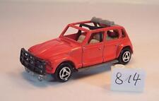Majorette 1/60 Nr. 231 Citroen Dyane Rallye rot #814