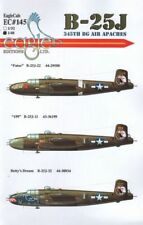 Eagle CAL 1/48 b-25j Mitchell 345th GRANDES AIRE Apaches #48145