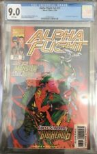 Alpha Flight #17 CGC 9.0 Early Big Hero 6 Apperance