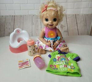 2007 Baby Alive Doll Learns To Potty with Accessories Working