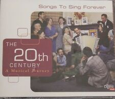 Songs To Sing Forever Readers Digest The 20th Century A Musical Journey 3 Cd Set