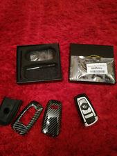 Bmw Schlüssel 868 Mhz Auto Smart-Remote-Key für BMW 1 3 5 7 Serie + Karbon Hülle