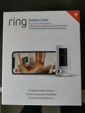 RING Indoor Cam Full HD 1080p WiFi Security Camera - White NEW Sealed Box