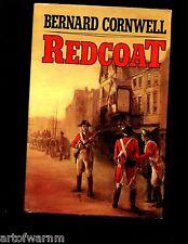br - Redcoat Bernard Cornwell, Signed Ed. 1st Uk Hb w/dj