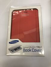 """Samsung Galaxy Tab 2 Book Cover For 7.0"""" Pink 2 Angle Standing Mode New In Box"""