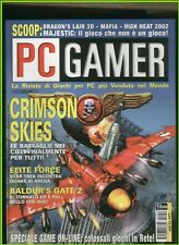 PC GAMER59 2001 dragon's lair 3d,mafia,high heat 2002,majestic