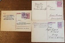 Austria – 1918-20 – Postal Stationery Cards – Fine Used (Se6)