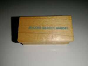 Rubber Stamp Wood Mount Unbranded Naked Greeks Inside Phrase Funny Saying Comedy