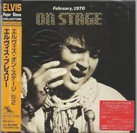 Elvis Presley - On Stage Japan Limited paper sleeve edition CD