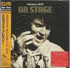 Elvis Presley - On Stage Japan Limited paper sleeve edition CD