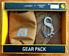 CARHARTT GEAR PACK INCL 5-IN-1 CARABINER + HYDRATION CINCH TAN