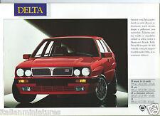 Lancia Delta HF Integrale Martini Y10 Dedra Thema Brochure 1991 Polish Language