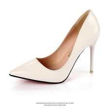 New Women Classic Business Casual Pointed Toe Pumps Stiletto High Heels Shoes