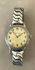 Rare Vintage Jaeger Le Coultre WWII Era Mechanical Watch