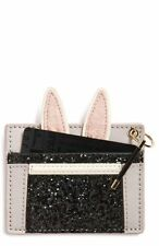 Kate Spade MAKE MAGIC RABBIT in a Hat Bunny Glitter Card Case Gift Box Adorable~