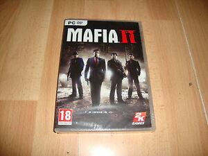 MAFIA II 2 DE TAKE TWO 2K GAMES PARA PC NUEVO PRECINTADO