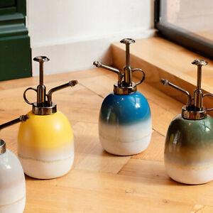 Sass & Belle Mojave Glaze Ceramic Indoor Botanical Water House Plant Mister